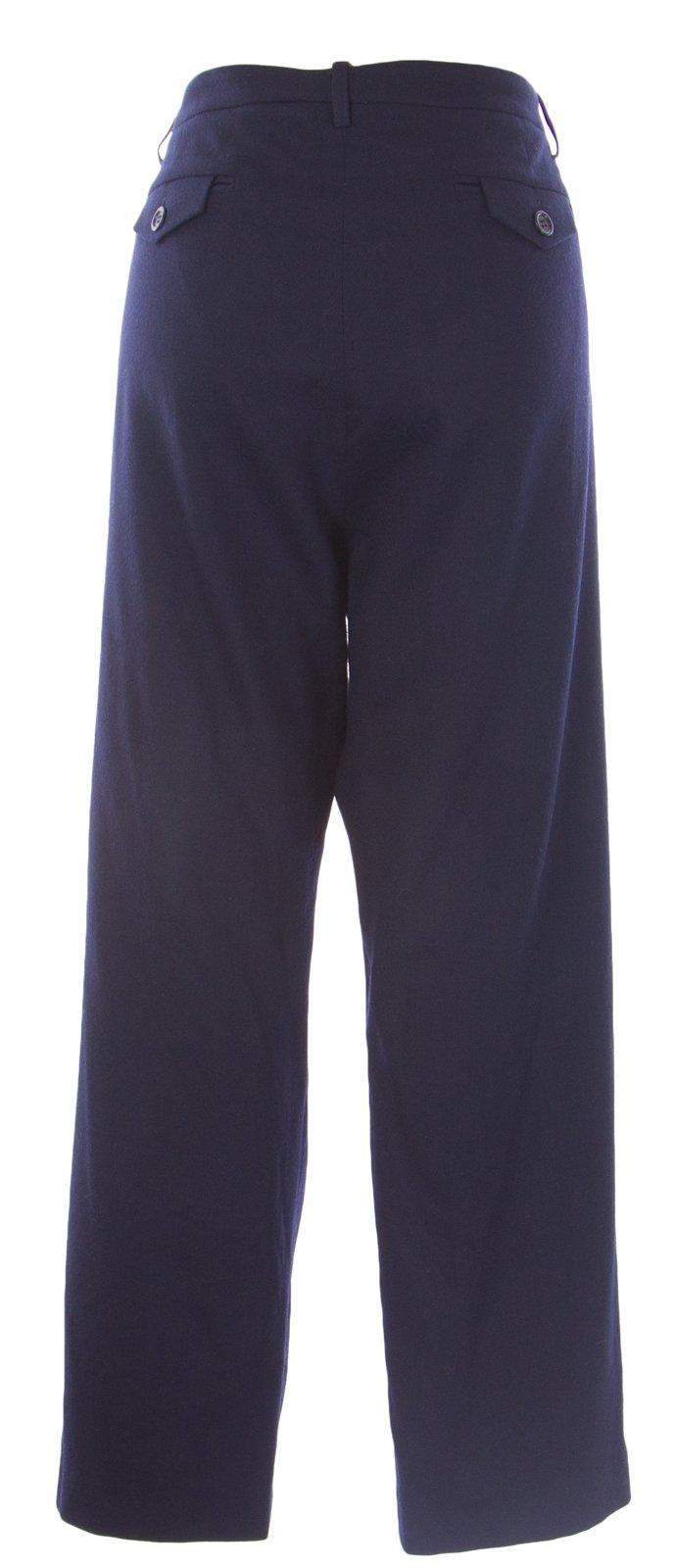 BODEN Women's Fine Wool Flared Pants US Sz 18L Navy by BODEN (Image #1)
