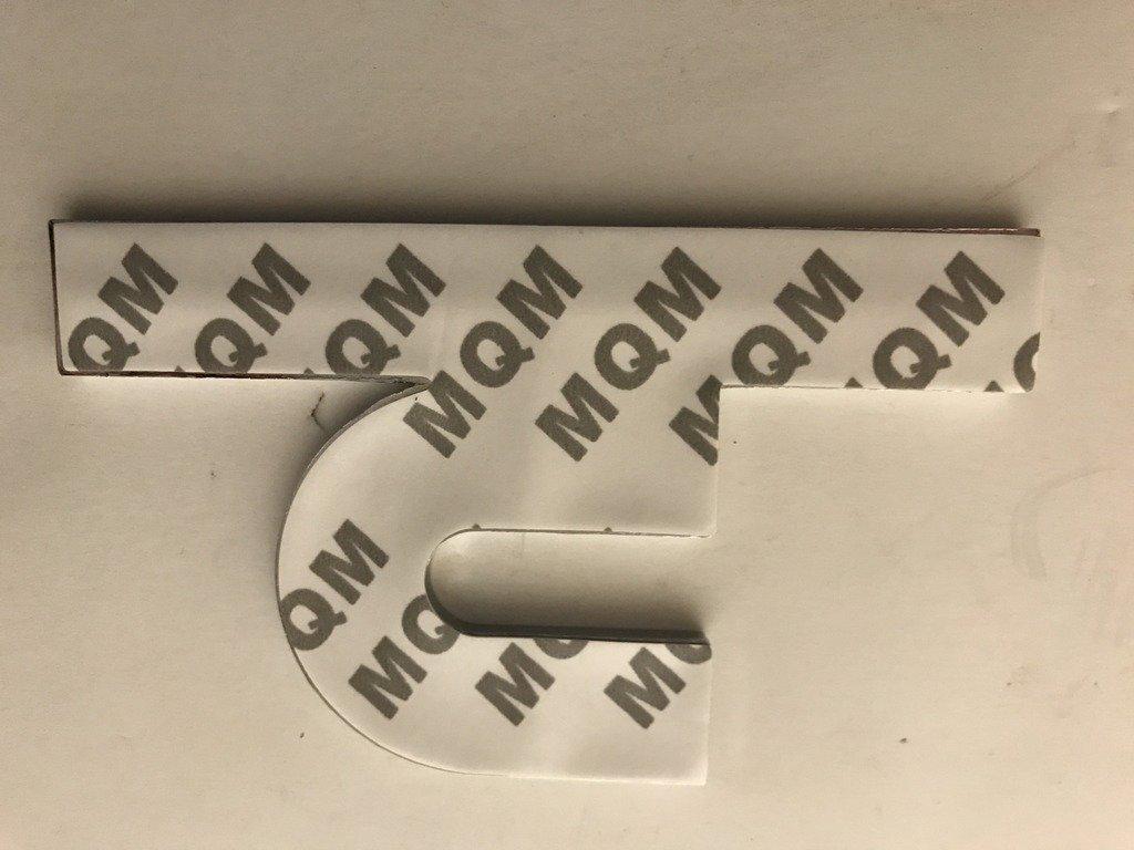 x1 New Chrome Cummins EFI Live SRT 6 Emblem Replaces OEM Badge 2500 3500 Decal