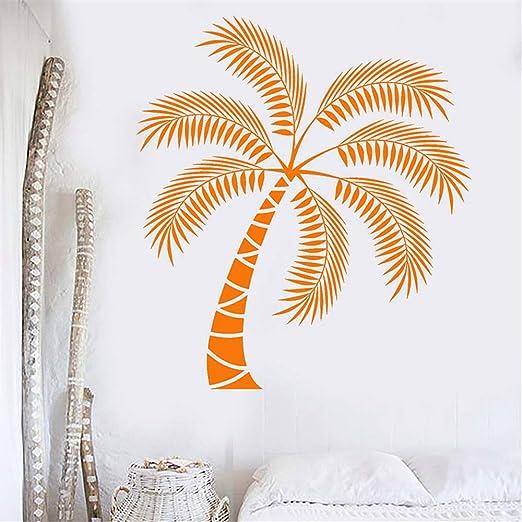 Beach Wall Decal Removable Sticker Vinyl Decor Art Transfer Palm Tree Tropical