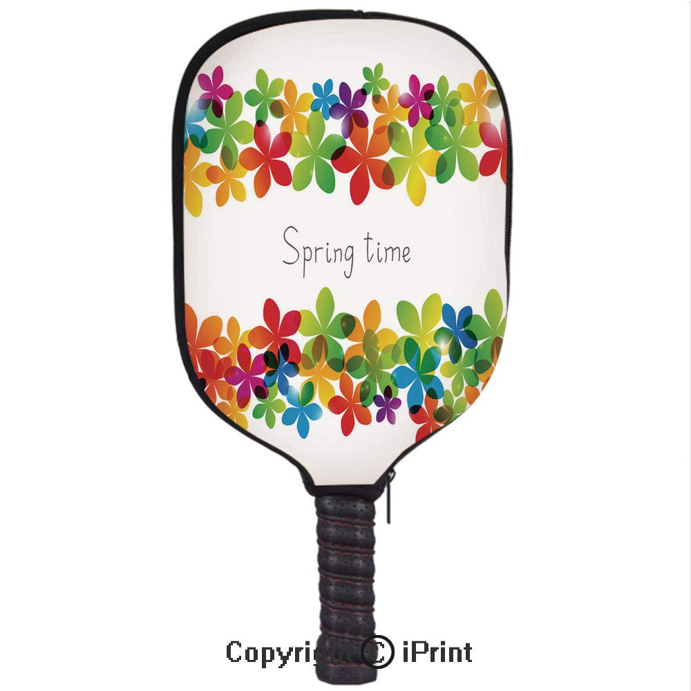 Amazon.com : Neoprene Material, Durable Quality Paddle Cover, Floral Background for Your design1(Size:8.23