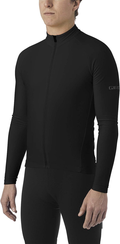 Giro Chrono LS Thermal Jersey Men black Size L 2021 Bike Jersey Longsleeve