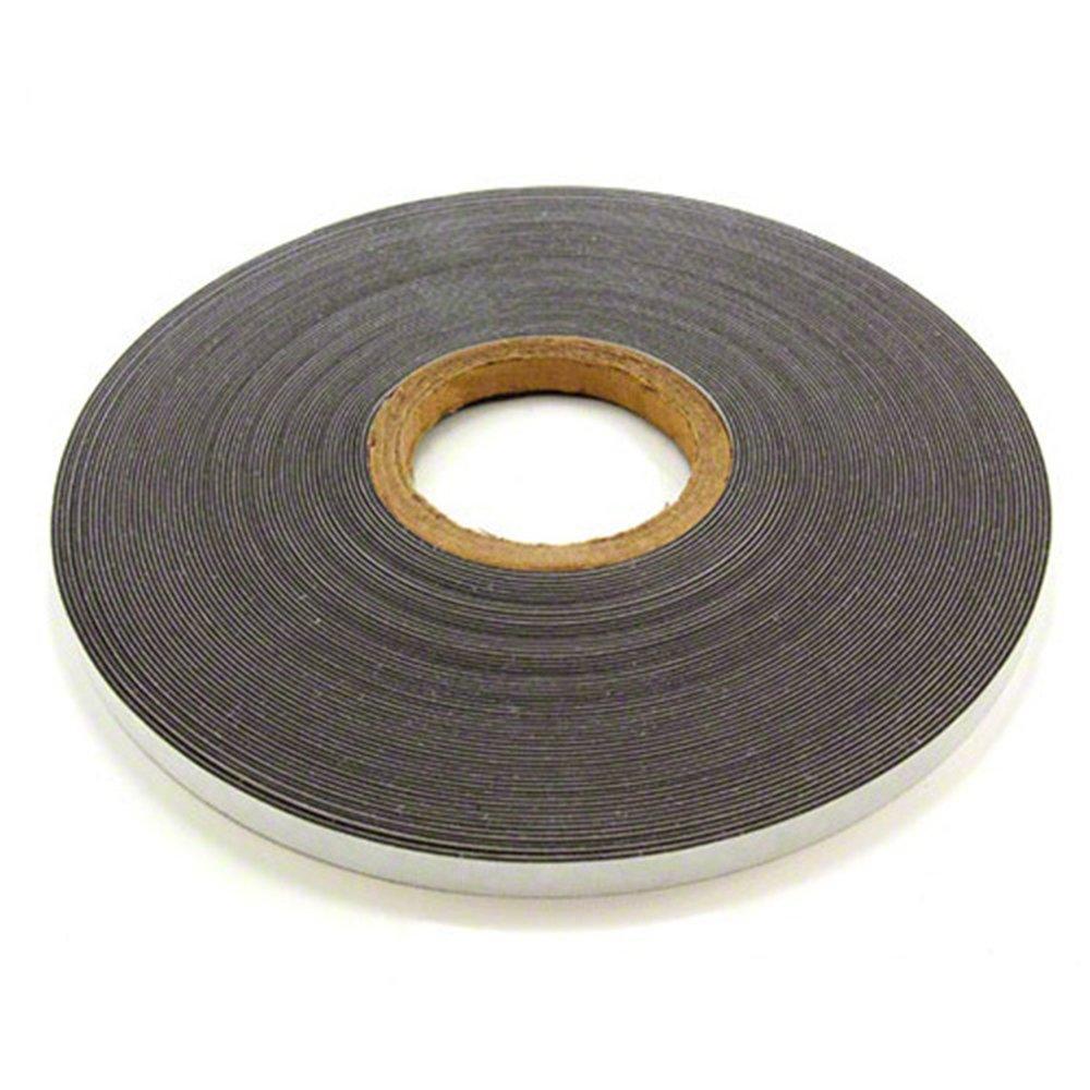 Magnet Expert® 12.7mm di larghezza x 1.3mm di spessore, lucido bianco nastro metallico con autoadesivo (5m di lunghezza) lucido bianco nastro metallico con autoadesivo (5m di lunghezza) Magnet Expert® FFT12(3M/GW)-1X5M