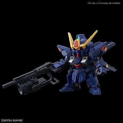 BANDAI SPIRITS SD Gundam Cross Silhouette Sisqueda (Titans Colors) Kit de Modelo de plástico de Colores: Juguetes y juegos