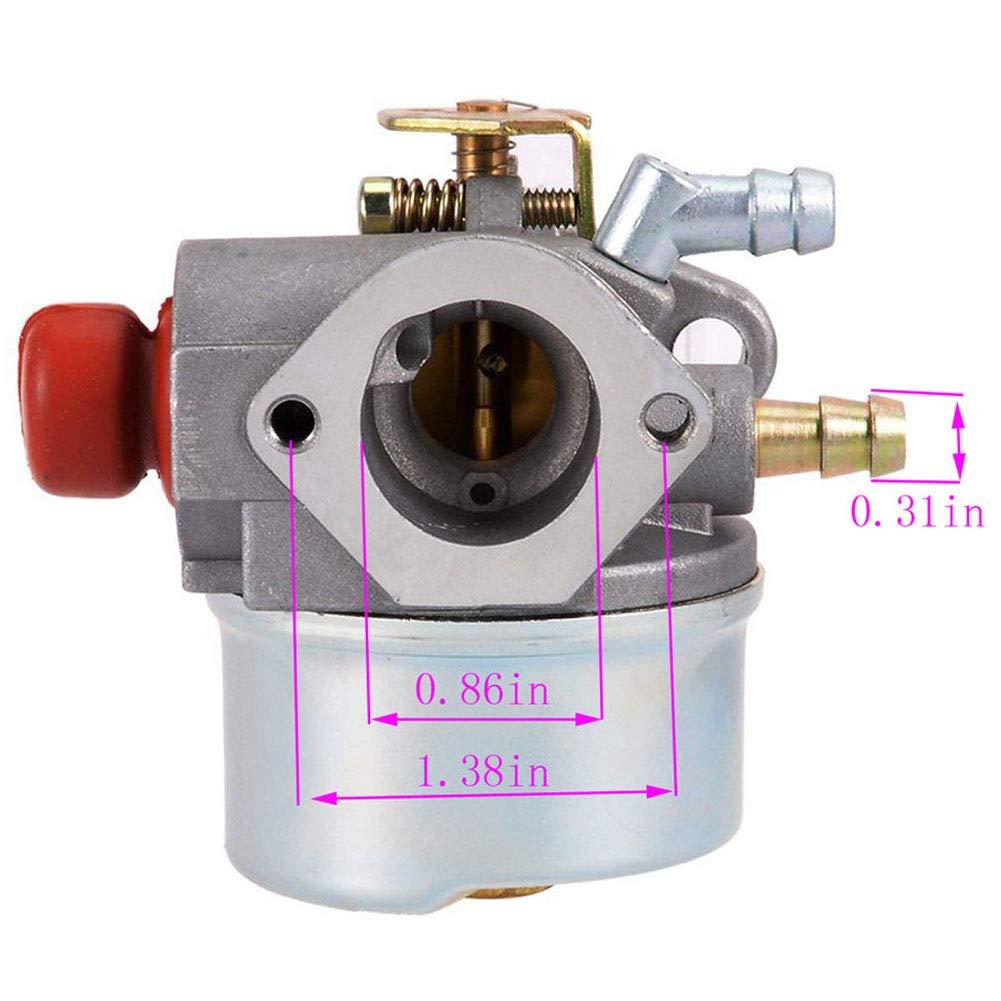 640025 Carburetor for Tecumseh 640025C 640004 640017 640117