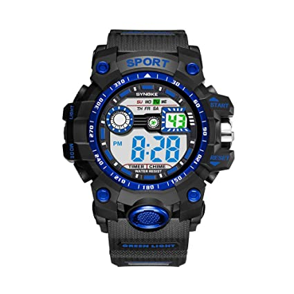 Amazon.com: Fxbar, Multi Windows Men Sport Watch Cool Design ...