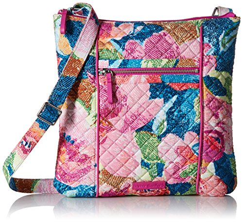 Vera Bradley Iconic Hipster Crossbody Bag, Signature Cotton, Superbloom