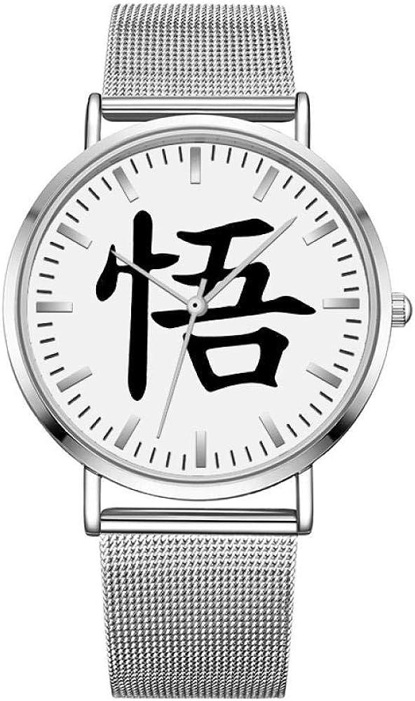 Montres Bracelet Super Saiyan Montre Étudiant Ultra-Mince Montre À Quartz Imperméable Jeunesse Anime Vent Dragon Ball Sun Wukong Dragon Ball P