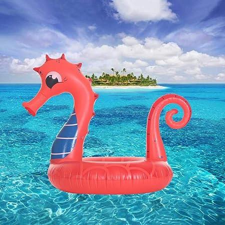 Y-M-H Inflables Seahorse Piscina Flotador Flotadores de la ...