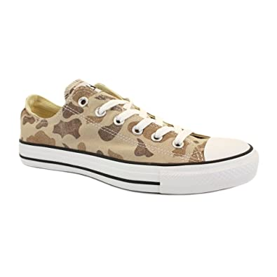 e000e920113daf Converse Chuck Taylor Washed Camo Ox 136599C Unisex Laced Canvas Trainers  Beige - 9  Amazon.co.uk  Shoes   Bags