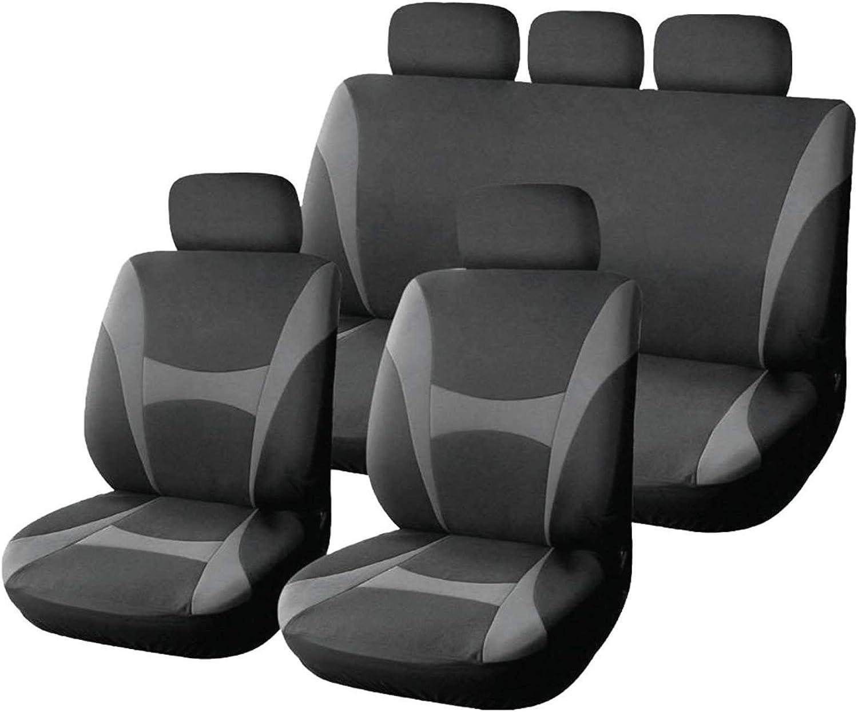 UNIVERSALE Coprisedili Auto Per Volkswagen Passat NERO Coprisedili auto Superior