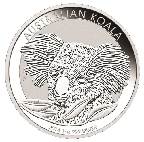 2014 AU Austrailian Koala Dollar Uncirculated Mint
