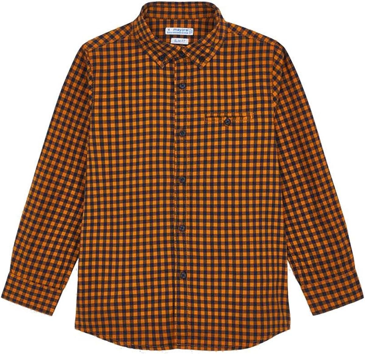 Mayoral Camisa cuadros vichy niño: Amazon.es: Ropa y accesorios