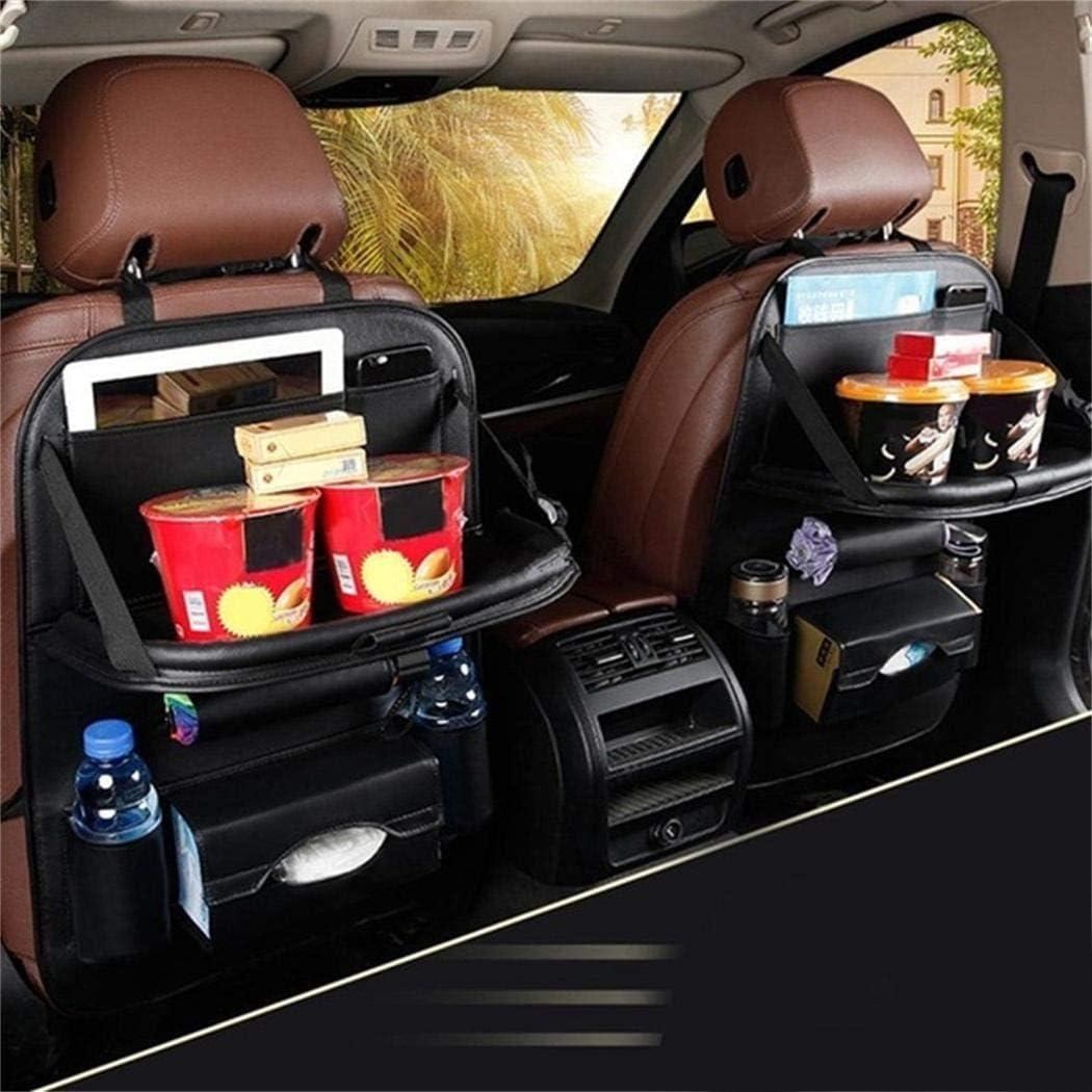 dozenla Car Seat Storage Bag Auto Multi-Pocket Felt Covers Organizer Storage Holder Seat Back Organizers