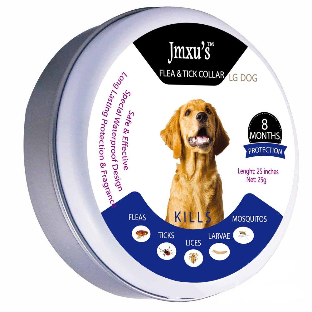 Weili Collier Antiparasitaire externe pour chien contre les puces les tiques et les moustiques (Chien 240 jours)