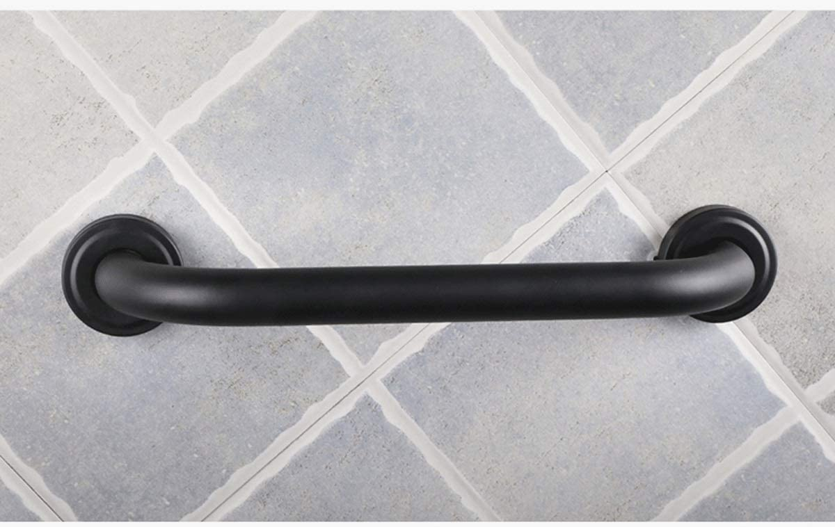 Stainless-Steel Black JYJgrab bar JYJ-Shower Bathroom Handrail Suction Grab Bar Safety Bathroom Armrest Non-Slip//Elderly Disabled Bath Shower Balance Support Rod