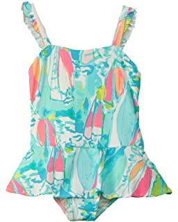 7183a1d307 Lilly Pulitzer Kids Womens Mindy Swimsuit (Toddler/Little Kids/Big Kids)
