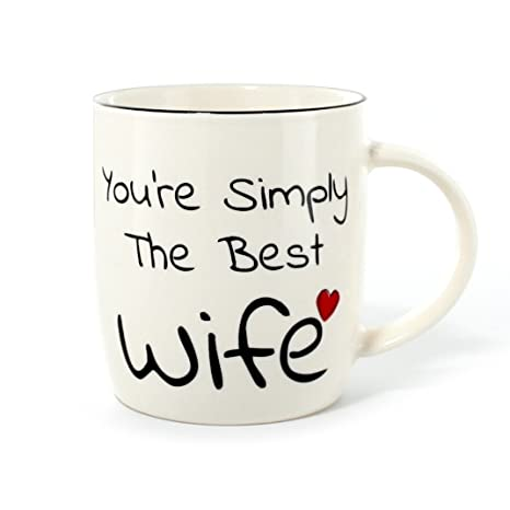 Gifffted Best Wife Coffee Mug Youre Simply The Romantic Unique
