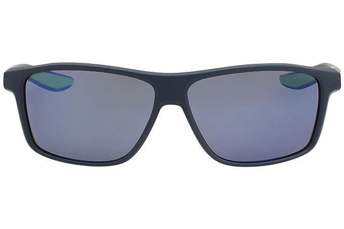 f46842a253a Amazon.com   Nike EV1072-434 Premier M Frame Grey with Pacific Blue Mirror  Lens Sunglasses