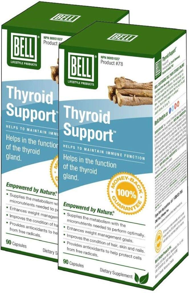 Bell Thyroid Support (90 Caps) 2-Pack