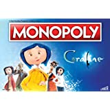 Monopoly Coraline Board Game | Based on The Film from acclaimed Studio, Laika | Officially Licensed Coraline Merchandise | Themed Classic Monopoly Game