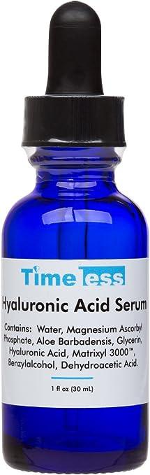 ผลการค้นหารูปภาพสำหรับ Timeless Hyaluronic Acid Serum