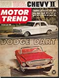 MOTOR TREND Dodge Dart 440 Chevy II Studebaker Lark Daytona road tests 1 1962