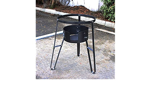 Amazon.com : New Cast Iron Super Gas Propane Stove Portable Camp Burner Outdoor Cooking Stand : Sports & Outdoors