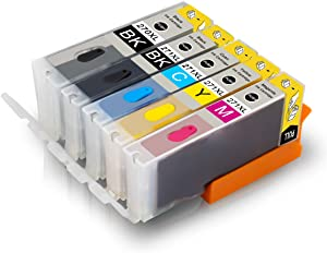 Pristar Compatible Bakery Ink Cartridge Replacement for PGI-270 CLI-271 PGI-270XL CLI-271XL for Cake Maker Cake Printer Pixma MG5720 MG5722 MG6820 MG6822 MG7720 TS9020 TS6020 TS8020 TS5020 (5-Pack)