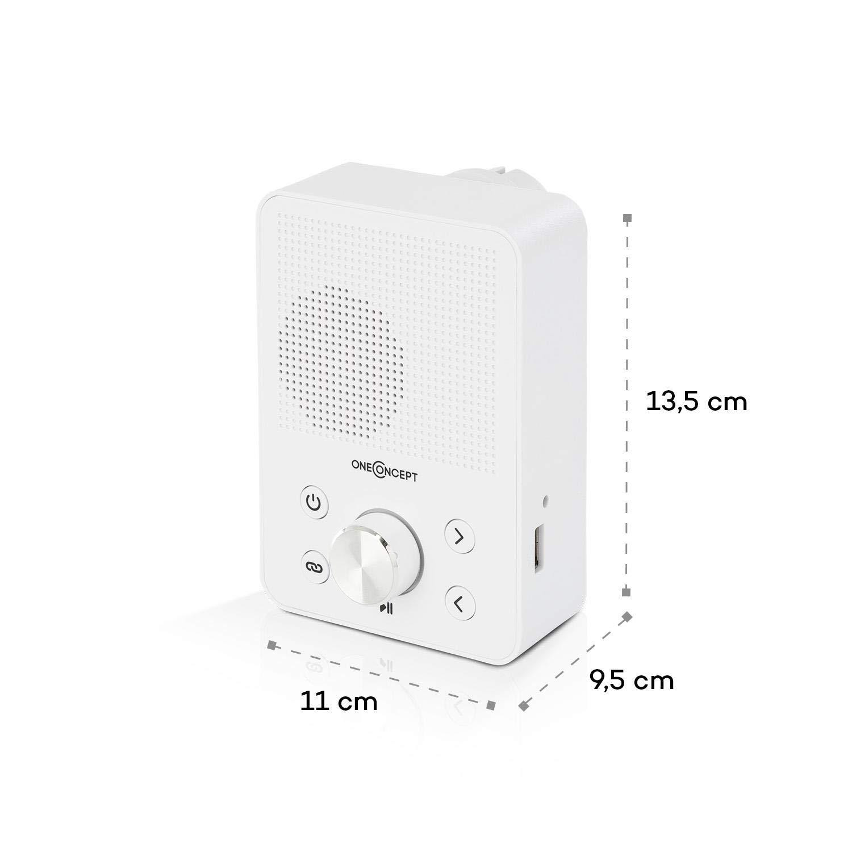 und UK-kompatibel /• schwarz oneConcept Plug+Play FM /• Steckdosen-Radio /• Digitalradio /• Plug-Radio /• UKW-Tuner /• USB-Port /• Bluetooth-Funktion /• automatische Sendersuche /• platzsparend /• Stecker EU