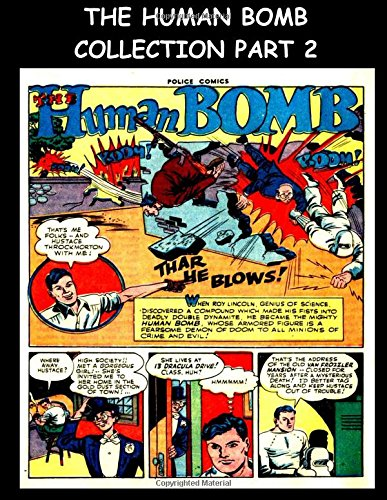 Read Online The Human Bomb Collection Part 2: The Human Bomb Stories From Police Comics #30-#58 pdf epub