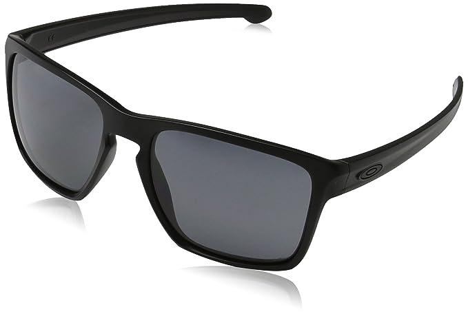 a82b16dbe456 Oakley Silver XL Sunglasses, Matte Black, Grey Polarized: Oakley ...