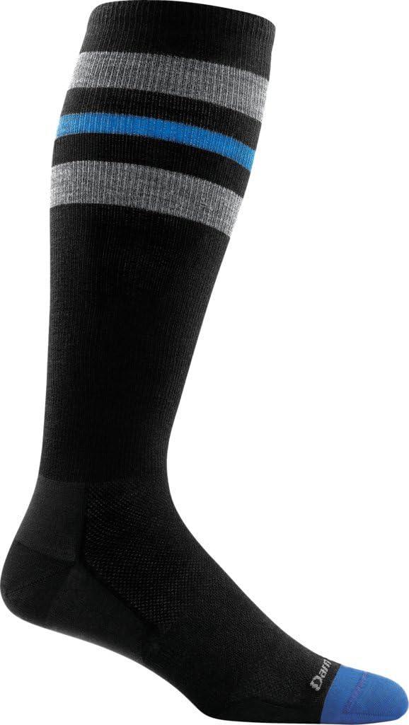 Darn Tough Mens Vertex 1//4 UL Black socks M OS