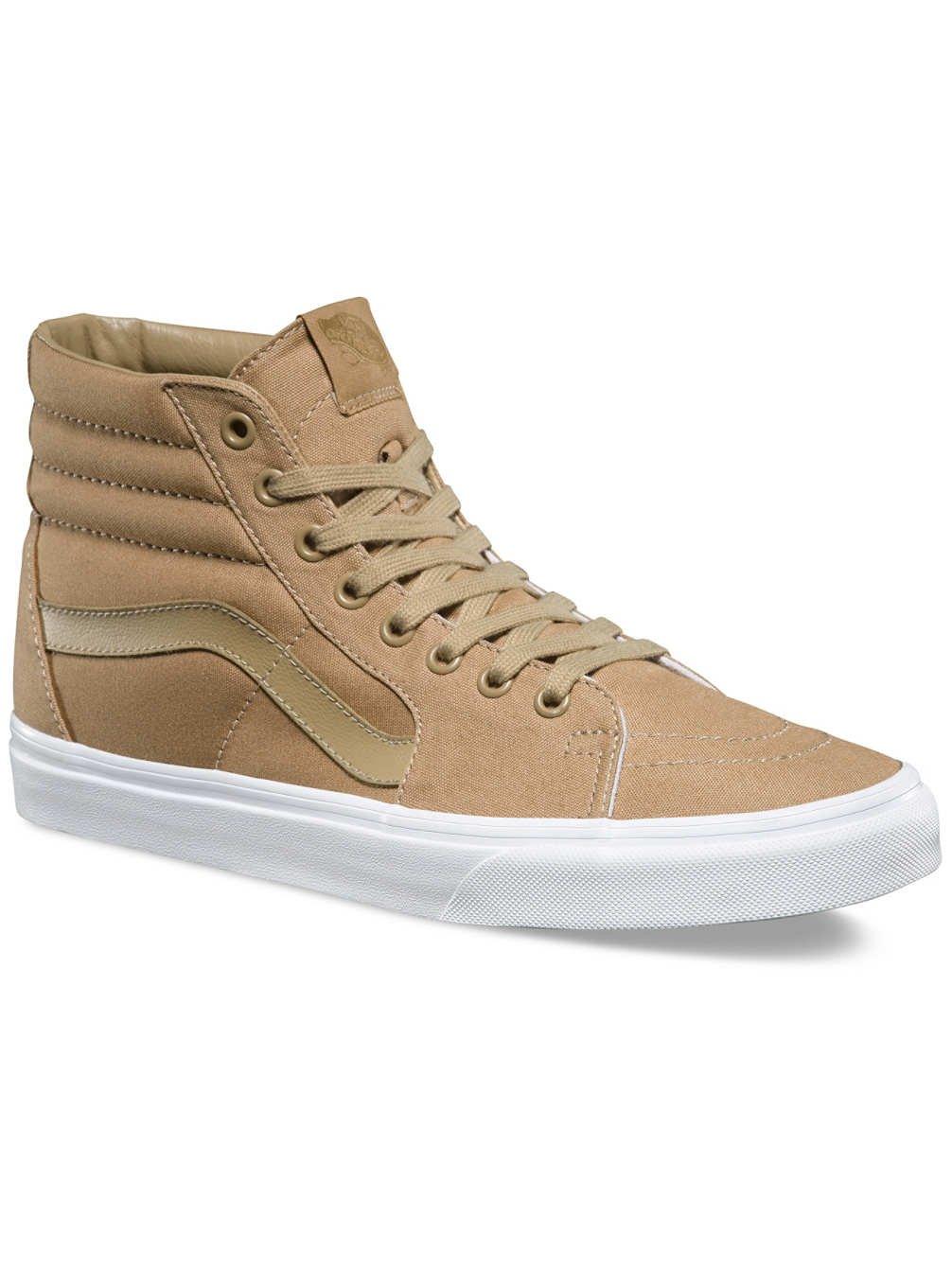 Vans Herren UA Sk8-Hi Hohe Sneakers, Gruuml;n  4.0|(Mono Canvas) Khaki/True