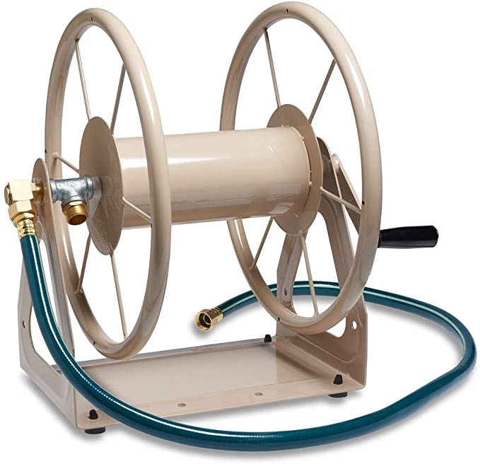 Liberty Garden Products 703-1 Multi-Purpose Steel Garden Hose Reel - Superior Look