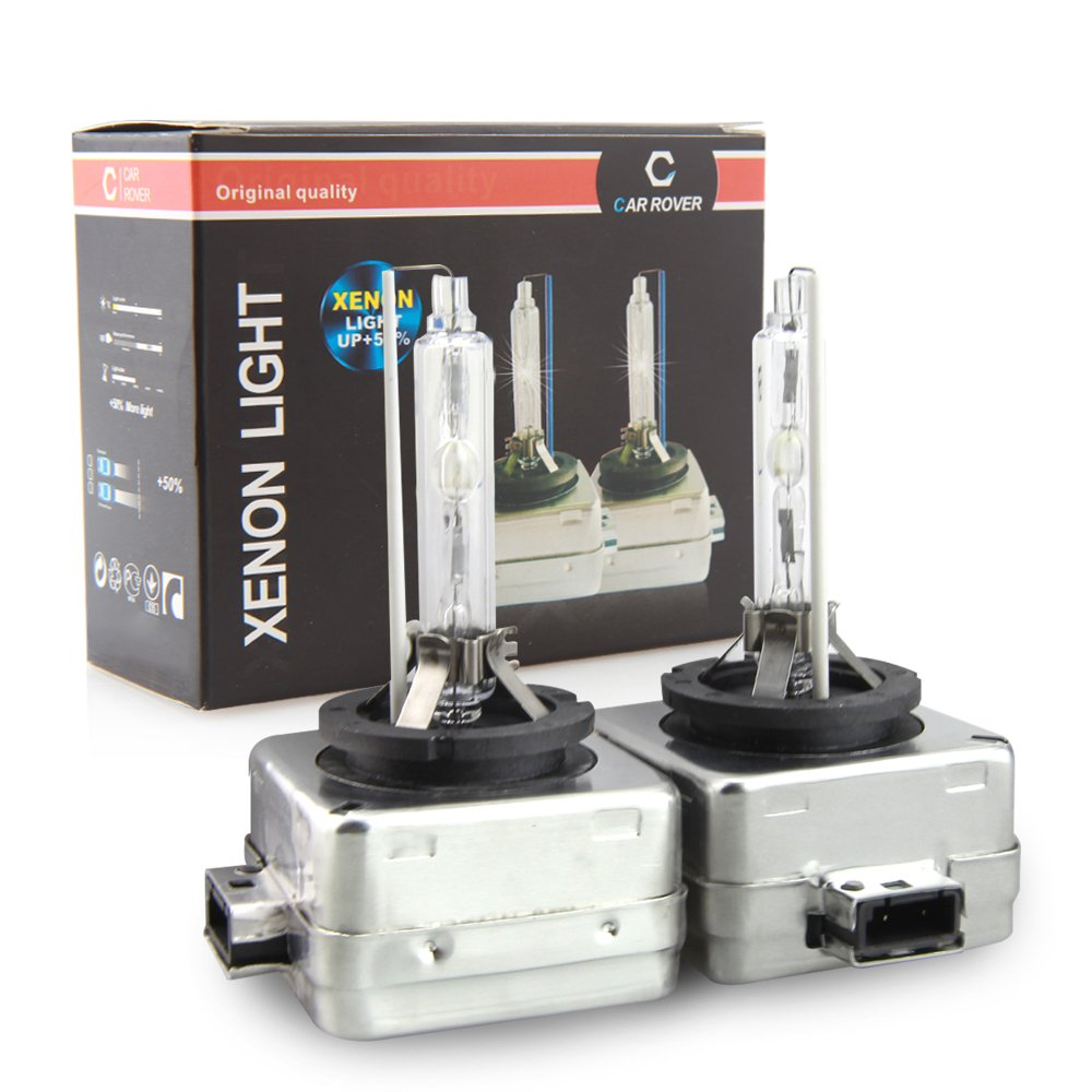 D1S HID Ampoule Lampe Xénon Phare 6000K, 12V 35W, Pack of 2