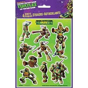Amazon.com: Tortugas Ninja mutantes adolescentes, Adhesivos ...