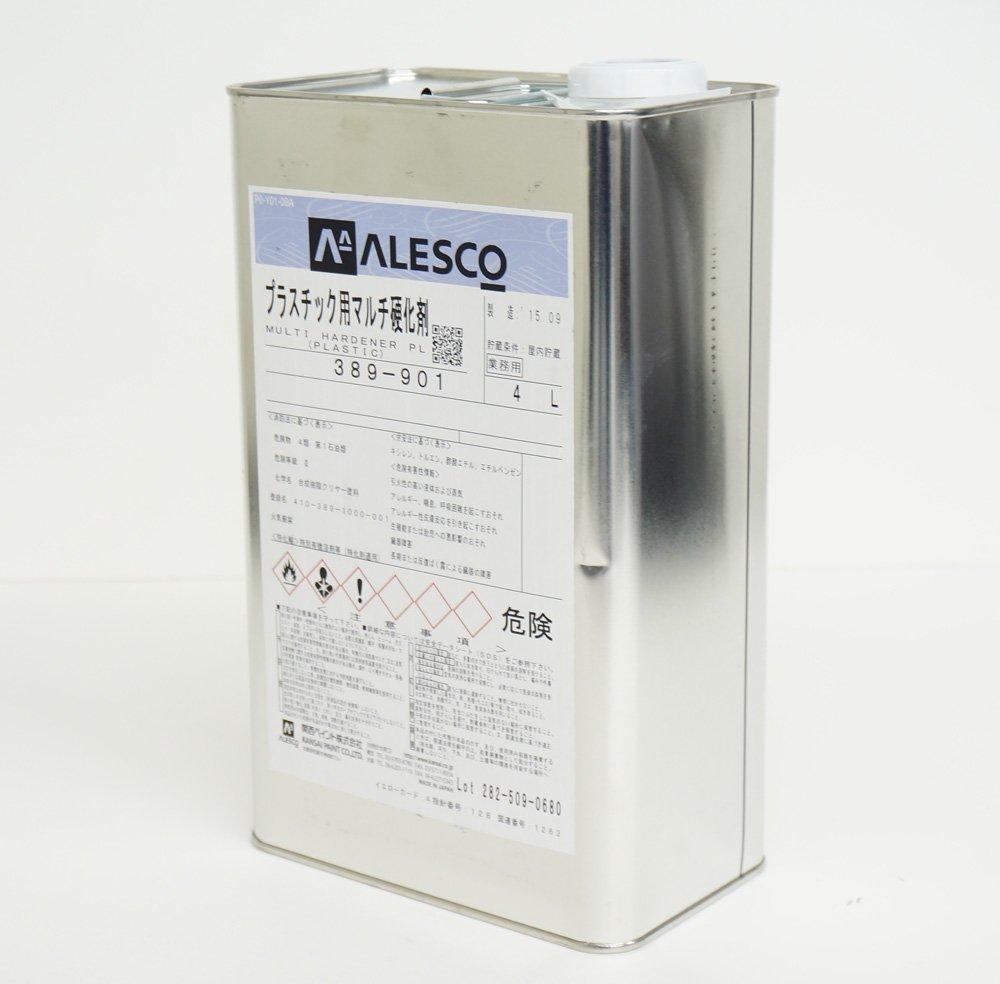 関西ペイント プラスチック用マルチ硬化剤 4L / ウレタン 塗料 2液 B018I6R7SA