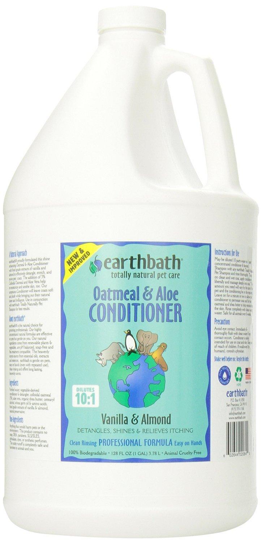 Earthbath Oatmeal and Aloe Conditioner 1-Gallon Earthwhile Endeavors Inc EAR02084