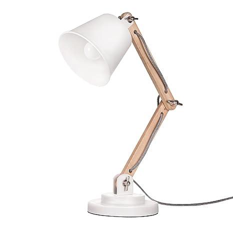 Tomons Lampe De Table Decoration Design Vintage Pour Bureau Et