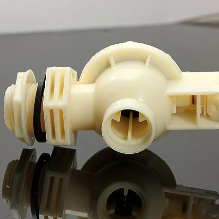 Plástico Interruptor válvula de flotador del tanque de agua 1 pulgada Para Trough llenador auto: Amazon.es: Electrónica