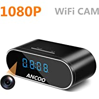 Ancoo Clock WiFi Full HD Spy Camera