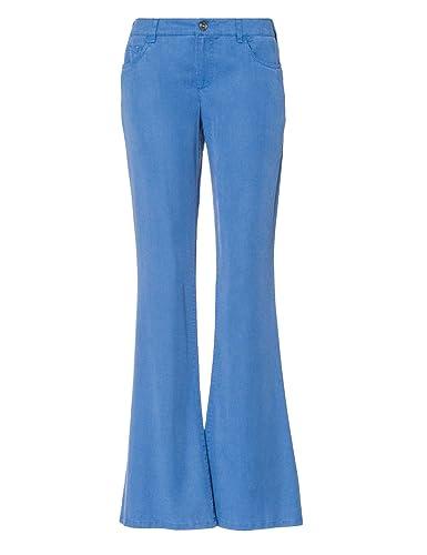 STRENESSE BLUE Pantalón de campana colección de verano Mujer