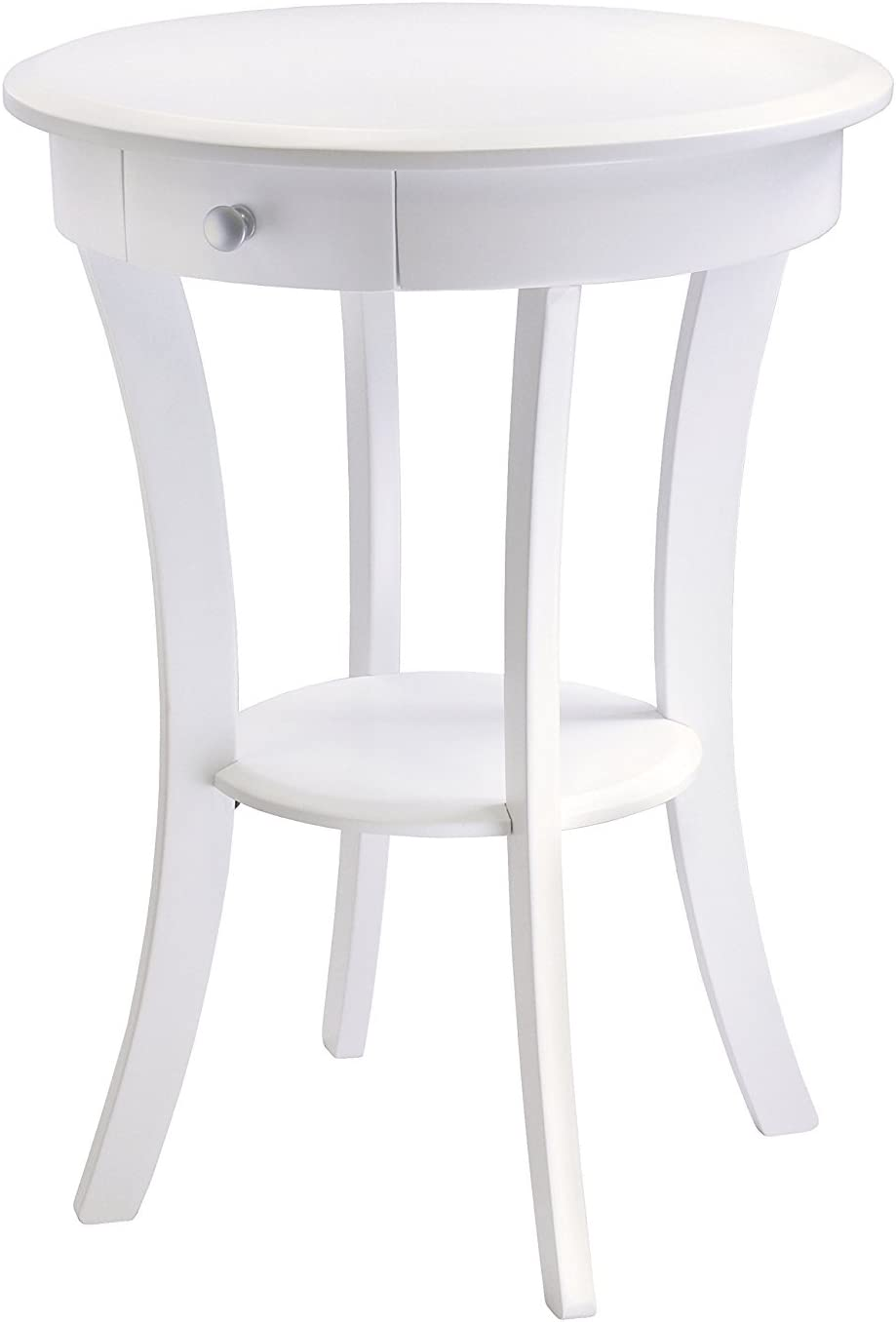 - Amazon.com: Accent Table For Small Places White Premium Wood Night