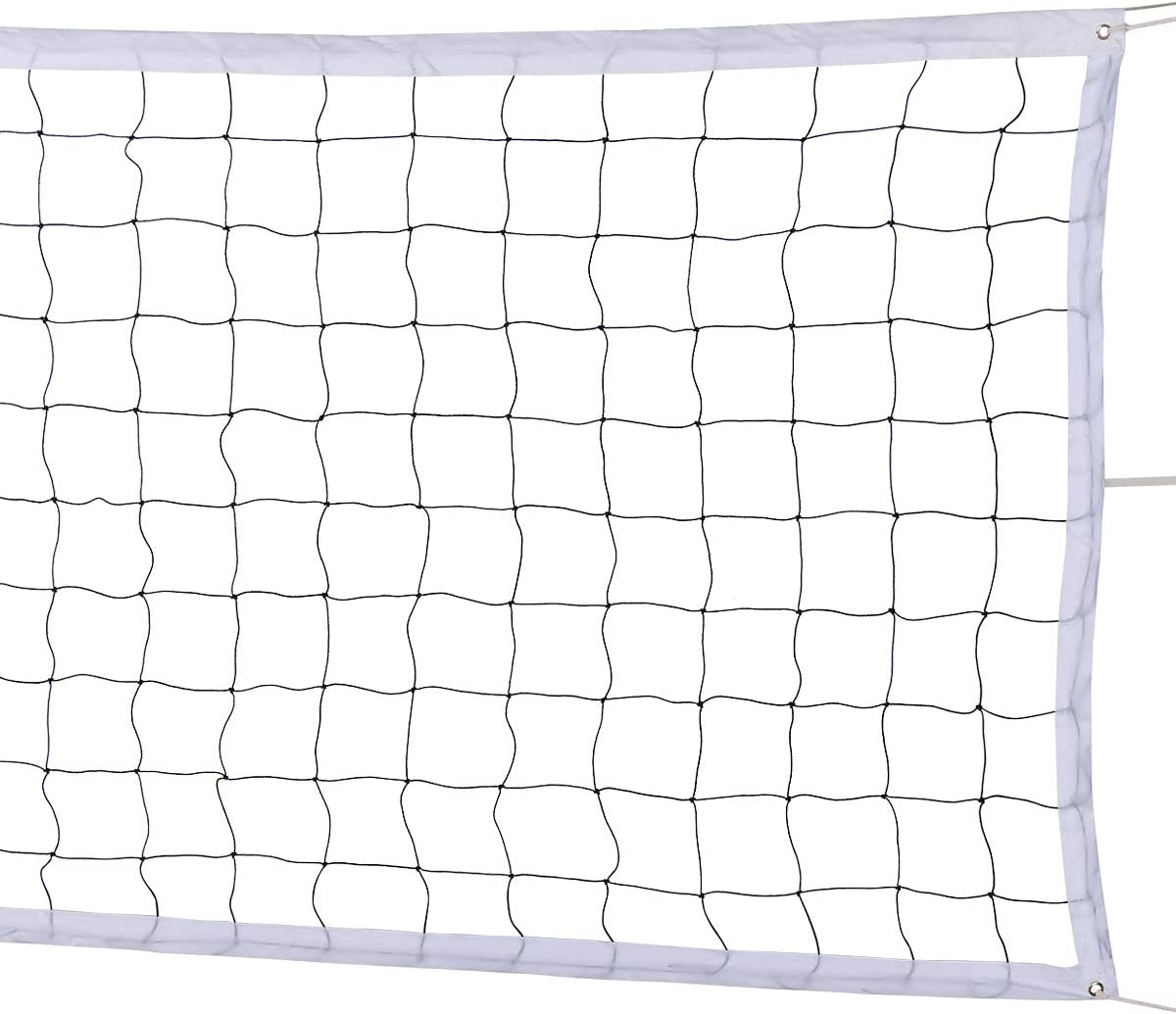 Amazon Com Ylovan Volleyball Net For Pool Beach Park Backyard Outdoor Or Indoor Sports Portable Volleyball Replacement Net 32 Ft X 3 Ft Poles Not Included Sports Outdoors