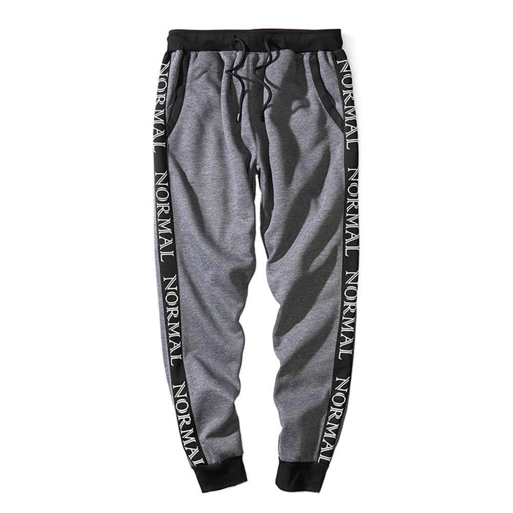 Pantalones De CháNdal De Hombres STRIR Moda Pantalones De Deporte Pantalones Jogger Casuales para Hombre Loose Pants Drawstring Pant STRIR-Ropa