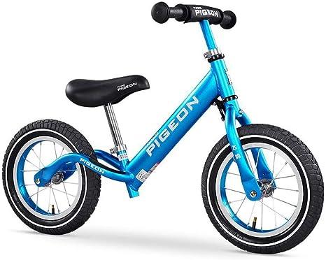 Bicicleta sin Pedales, De 12 pulgadas bicicleta de equilibrio, sin ...