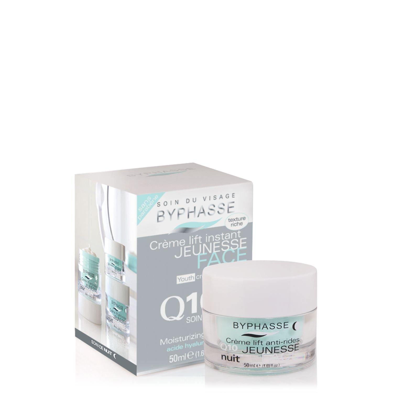Crème Soin de Nuit Lift Instant Q10 - Tous types de peau - 50 ml Byphasse