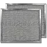 American Metal Aluminum Range Hood Filter - 8'' X 9-1/2'' X 3/8''