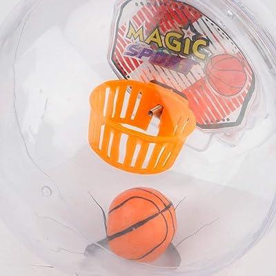 Juguetes para aliviar el estrés, niños adultos creativos Palm Descompresión Ball Toy Led Music Shoot A Baloncesto Niños Niños Anti Stress Fidget Toys Gifts: Belleza