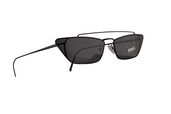 Amazon.com: Prada PR64US - Gafas de sol, color negro con ...